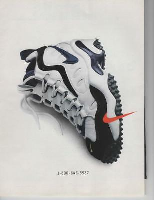 Vintage Print Ad For Nike Shoe Ready To Be Framed Or Gift Idea! 1-800-645-5587
