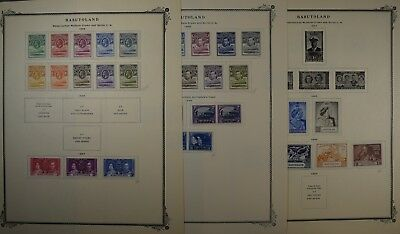 Group of Postage Stamps of Basutoland (now Lesotho), 1933 - 1965