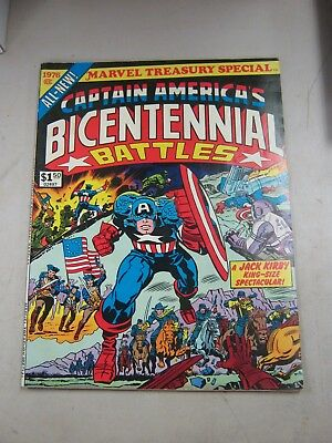 Marvel Treasury Edition Special Captain America Bicentennial Battles Fine- 1976