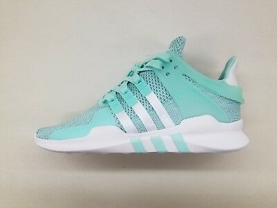 new style 9d023 c9330 Adidas Originals Eqt Support Mint Green White Womens Size Sneakers B37538