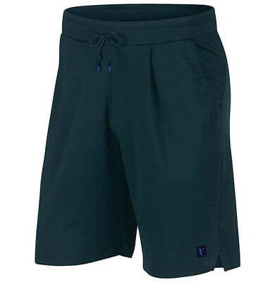 NIKE Court Men Roger Federer Court Essential Tennis Short Spruce L AH6866-303