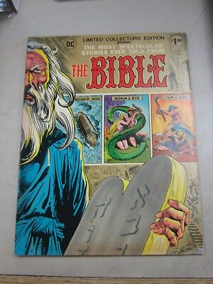 Dc Limited Collectors Edition #c-36 Fine The Bible 1975