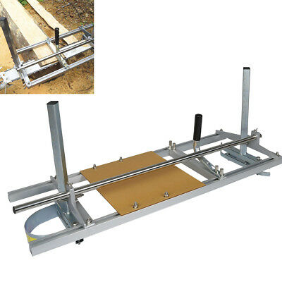 """Chainsaw Mill 14""""-36"""" Portable Chain Saw Mill Aluminum Steel Planking Lumber"""