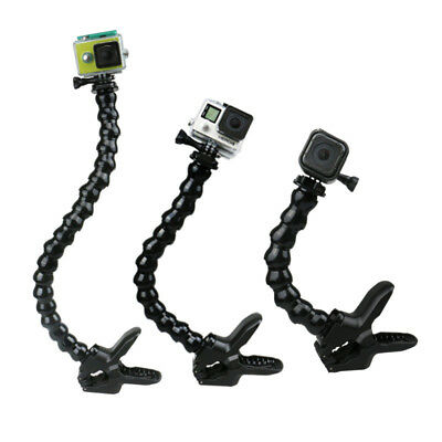 Mount Jaws Accessories Flex Hero For Gopro Clamp Neck Camera 5/4/3/2/1 For All