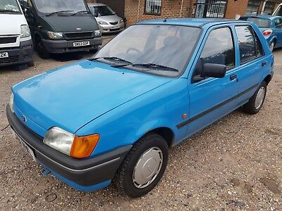 Ford Fiesta Popular Plus 1.1 1991 Full Dealer Service History 1 Owner Low Miles