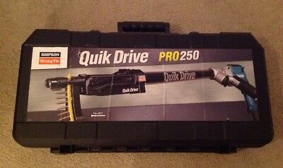 QuikDrive PRO250 G2M25K System w/ Makita 2500 RPM Motor Simpson Strong-tie