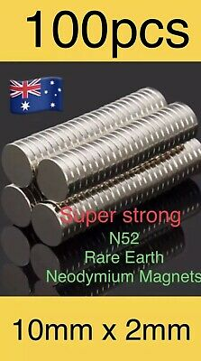 16pcs 10X2mm Super Strong Round Disc Rare Earth Neodymium Magnets Fridge N52,,