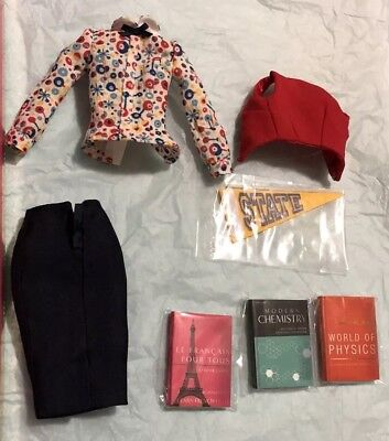 Poppy Parker Co-Ed Cutie Partial outfit Only Integrity No Doll New