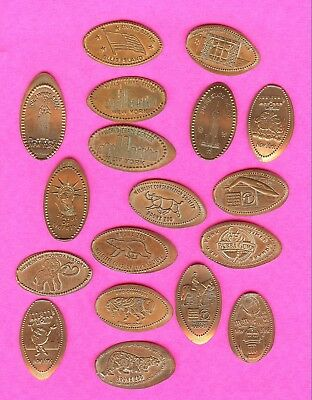 WORLD TRADE CENTER NEW YORK TOURIST ATTRACTIONS Elongated Smashed Penny Lot