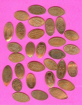Weird and Unusual Mysterious Supernatural L@@K & See Elongated Smashed Penny Lot