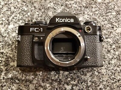 Konica FC-1 35mm SLR Camera Body works Excellent Condition!!!