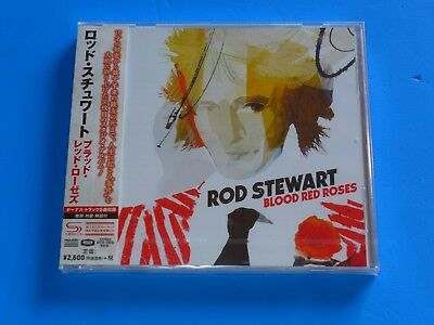 2018 JAPAN SHM CD ROD STEWART BLOOD RED ROSES w/2 BONUS TRACKS FOR JAPAN ONLY