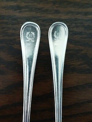 VTG - Savoy Plaza Hotel - Reed & Barton Durable Silver Plate Cocktail Forks