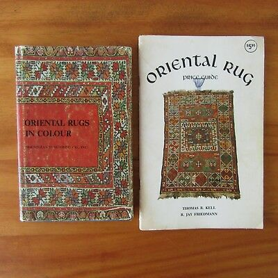 Oriental Rugs in Color Identification Book 1st US Edition plus Price Guide