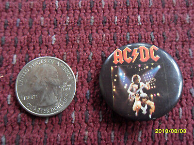 Ac/dc Button Pin (Vintage Dated 1984)