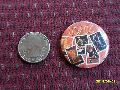 Ac/dc Fly On The Wall Button Pin