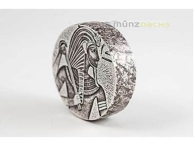 3000 Francs Egyptian Relic - King Tut Tschad Chad 5 oz Silber 2016