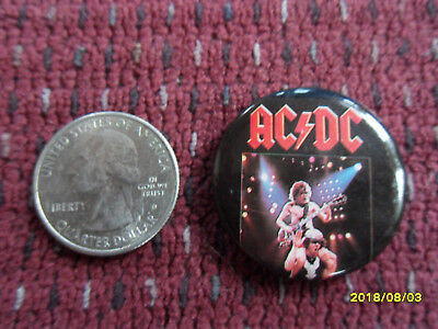 Ac/dc Button Pin (Vintage Dated 1983)