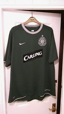 NIKE CELTIC GREEN LISBON LIONS 40TH ANNIVERSARY AWAY SHIRT SIZE XXL. Excellent.