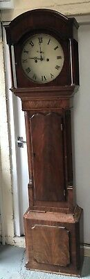 Antique Mahogany Long-case Grandfather Clock