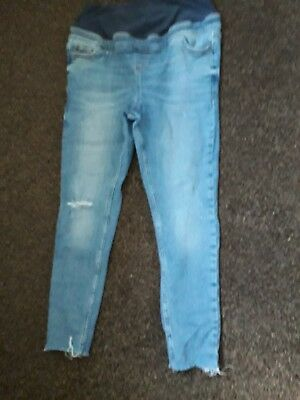New Look Maternity Jeans Size 12 Skinny over bump style