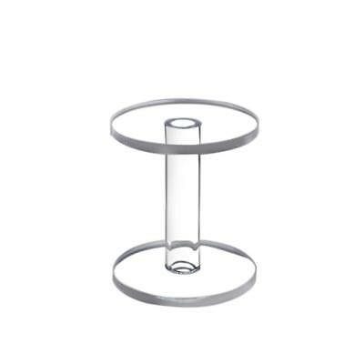 Round Display Stand Acrylic Round Display Risers 6Inchx4.7Inchx5/16Inch