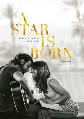 A STAR IS BORN ~ Filmposter A1 ~ Lady Gaga, Bradley Cooper
