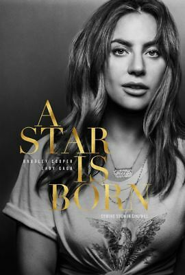 A STAR IS BORN ~ Charakter Filmposter A1 ~ Lady Gaga, selten, rar