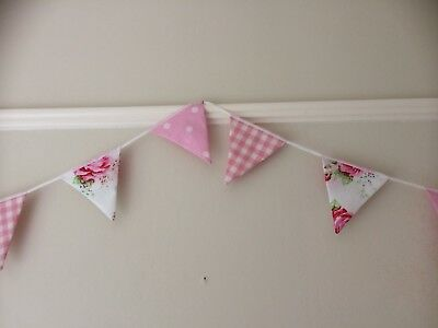 350cm Girls Bedroom Bunting Cath Kidston And Laura Ashley Fabric