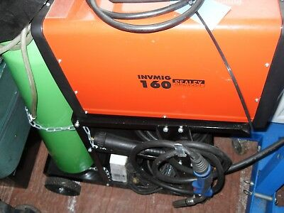 inverter mig,tig,arc welder including trolley and 2 torches and more ....