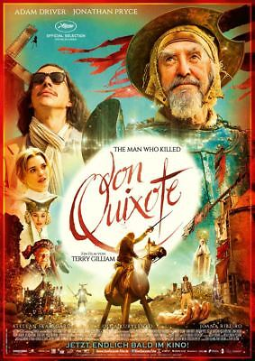 THE MAN WHO KILLED DON QUIXOTE ~ Filmposter A1 ~ Adam Driver, Jonathan Pryce