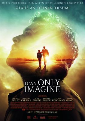 I CAN ONLY IMAGINE ~ Filmposter A1 ~ J. Michael Finley