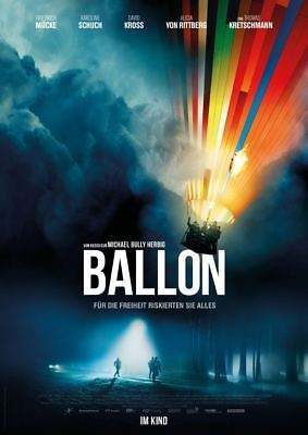 BALLON ~ Filmposter A1 ~ Friedrich Mücke, David Kross, Michael Bully Herbig