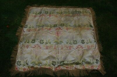 18th/19th century antique French/Italian silk fabric