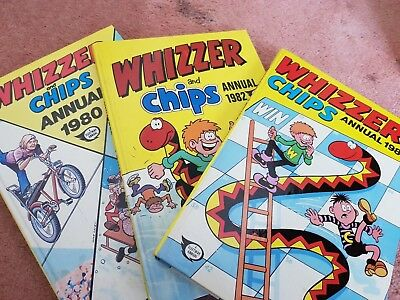 whizzer and chips annuals 1980s