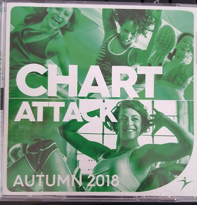 CHART ATTACK Autumn 18 - Step/Cardio & Toning - Doppel-CD