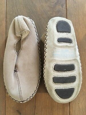 Mirak Boys Westminster Traditional Hard Soled Slippers Navy New Various Sizes