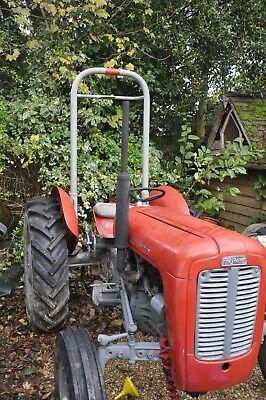 VINTAGE TRACTOR ROLL BAR  SAFETY FRAME complete with bolts  Lift off Ferguson 35