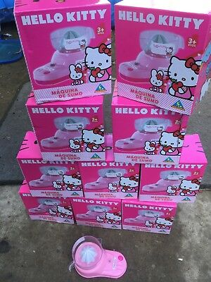 JOB LOT 12 x HELLO KITTY JUICERS BATTERY OPERATED TOY