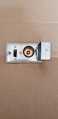Bussman Switch With Fuse Holder - Handy Box Cover - Buss Fustat Fuseholder 125V