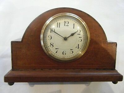 Vintage Mantel Clock. French movement with enamel dial.