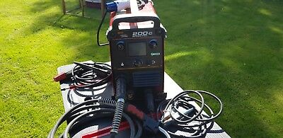 Lincoln electric welder 200c  3 in 1 mig tig mma