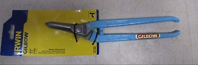 """Gilbow G69 11"""" 275mm Right hand tin snips sheet metal cutters"""