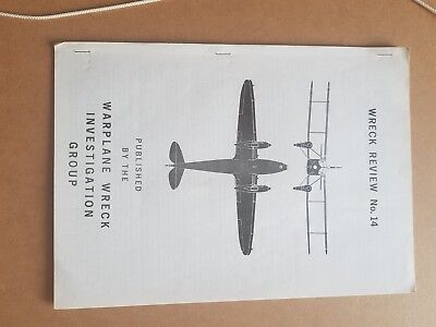 Wreck Review no 14 early aviation archaeology RAF WW2 LUFTWAFFE great reference