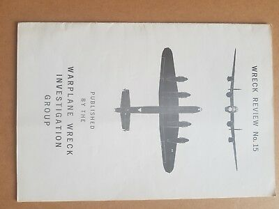 Wreck Review no 15 early aviation archaeology RAF WW2 LUFTWAFFE great reference