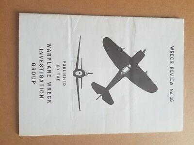 Wreck Review no 16 early aviation archaeology RAF WW2 LUFTWAFFE great reference
