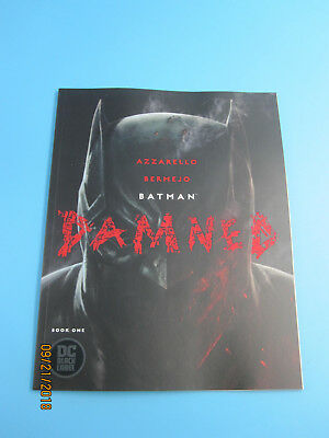 Batman Damned #1 CVR A NM 1st Print Uncensored Bagged/Boarded Sold Out!