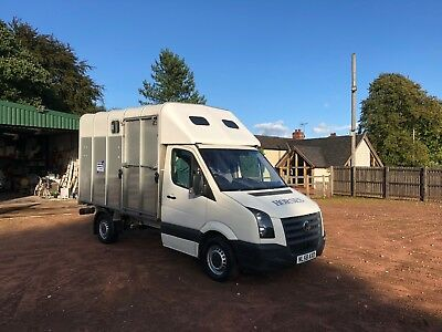Vw Crafter Horsebox Ifor Williams Auto