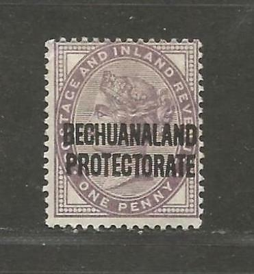 British Bechuanaland 1897 Queen Victoria 1d lilac unused -  see scan