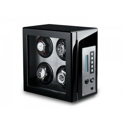 ae75d40bb Vitrina movimiento relojes Watch Winder 4 Carbon fiber ALU LCD-LED